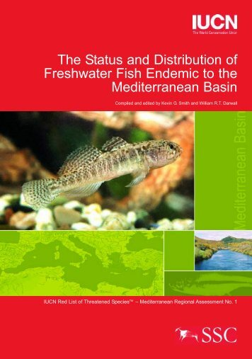 The Status and Distribution of Freshwater Fish Endemic to the ...