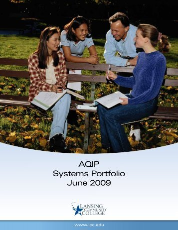 AQIP Systems Portfolio June 2009 - Lansing Community College