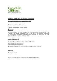 16 de desembre del 2009 - Consell de Ciutat