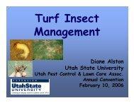 Turf Insect Management - Utah Pests - Utah State University