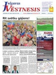 2013.gada 23.maijs Nr.21(308) - Jelgavas Vēstnesis