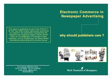 Electronic Commerce in Newspaper Advertising - World Association ...