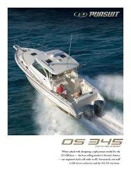 OS 345 Offshore - Pursuit Boats