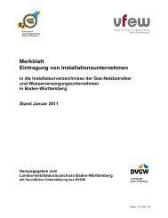 Merkblatt Eintragung von Installationsunternehmen - EGT Energie