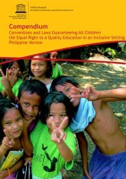 Compendium: conventions and laws guaranteeing all children the ...