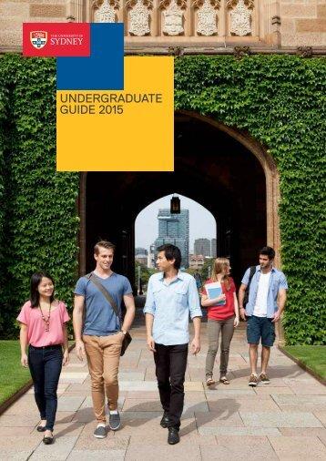 Sydney-Uni-2015-Undergraduate-Guide