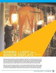 shining a light on window displays - Urban Development Services