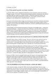 Le Monde 14 - KZ-Gedenkstätte Hailfingen-Tailfingen