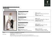 AUTUMN/WINTER COLLECTIONS 2010/2011 GOLFINO LADIES