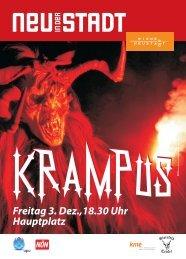 Freitag 3. Dez.,18.30 Uhr Hauptplatz - Kultur Marketing Event ...