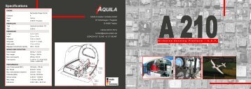Specifications - Aquila