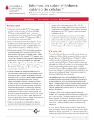 Información sobre el linfoma cutáneo de células T - The Leukemia ...