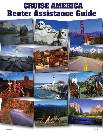 Handbuch zur Miete bei Cruise America