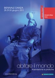 abitare il mondo - La Biennale di Venezia