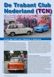 De Trabant Club Nederland (TCN) - Wheels Academy