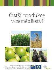 Čistší produkce v zemědělství - CENIA, česká informační agentura ...
