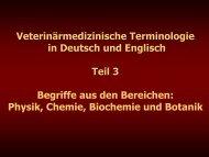 Teil 3 - Veterinärmedizinische Universität Wien