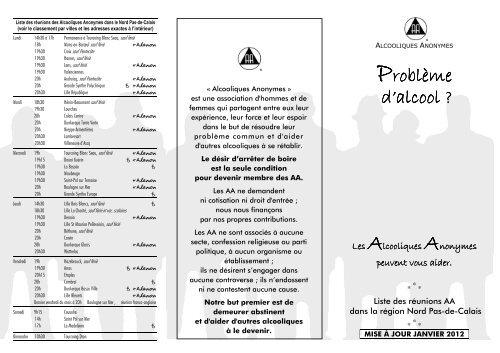 buy popular new products look good shoes sale Problème d'alcool ? - Accueil - Nordnet