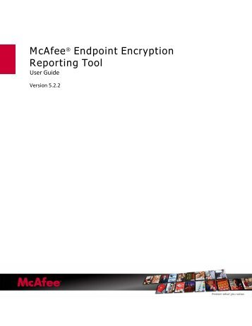 mcafee drive encryption product guide