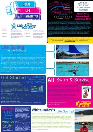RLSQ Newsletter February 2013.pdf - Royal Life Saving Society of ...