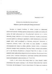 Prof. dr hab. Jacek Waluk Instytut Chemii Fizycznej PAN