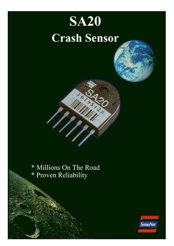 SA20 Crash Sensor - SM Elektronik