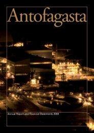 Annual Report 2008 - Antofagasta plc