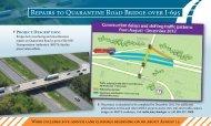 Repairs to Quarantine Road Bridge over I-695 - MdTA - Maryland.gov
