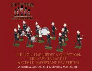 Buyers Premium 20% - Old Toy Soldier Auctions