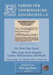 Dr. Otto Löw - Verein für Thüringische Geschichte e.V.