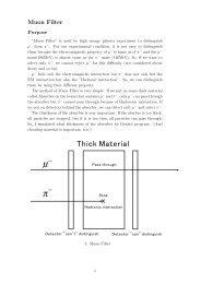 Muon Filter 1 (2006 3/15, pdf)