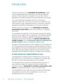 Standards of proficiency – Physiotherapists - Page 4