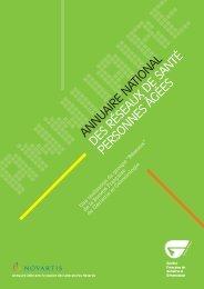 Annuaire des 124 réseaux de santé Personnes Agées