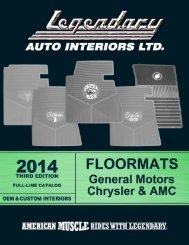 FREE download - Legendary Auto Interiors, Ltd.