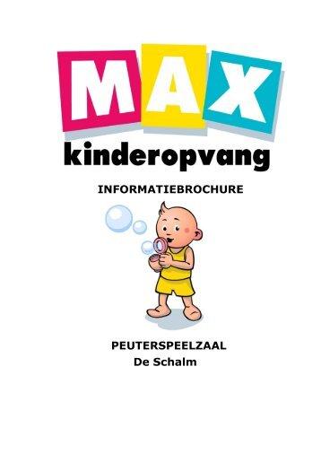 VVE-Peuterspeelzaal De Schalm - Max Kinderopvang