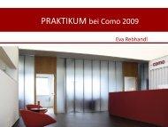 PRAKTIKUM bei Como 2009