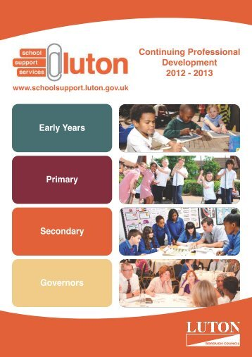 Download - Schools Support Services Luton - Luton Borough Council