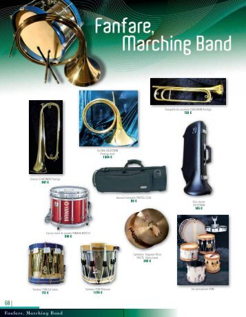 Fanfare, Marching Band - Easy catalogue