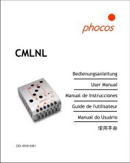 Phocos CMLNL