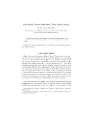 Paley-Wiener Theorem In Rn With Clifford Analysis Setting*