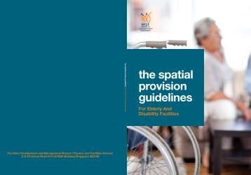 The Spatial Provision Guidelines for elderly and disability facilities