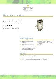Scheda tecnica Serie UB - GTM GmbH