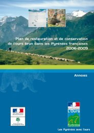 Annexe I / Plan de restauration - DREAL Midi-Pyrénées