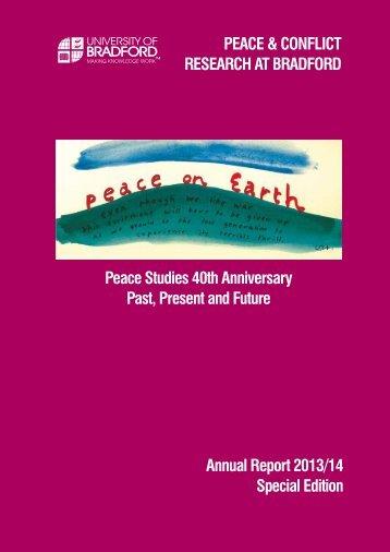 PeaceStudiesAnnualReport2014Final