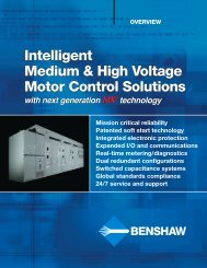 Intelligent Medium & High Voltage Motor Control ... - Royal Hydraulics