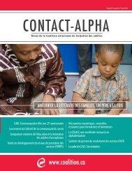 Hiver 2013 - Coalition ontarienne de formation des adultes