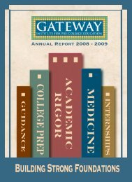 ARC: 2009 - Gateway Institute for Pre-College Education - CUNY