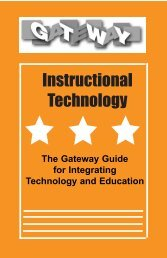 Technology Guide - Gateway Institute for Pre-College Education