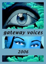 Voices - Gateway Institute for Pre-College Education - CUNY