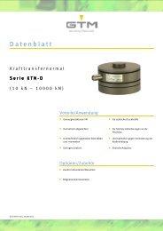 Datenblatt Serie KTN-D - GTM GmbH